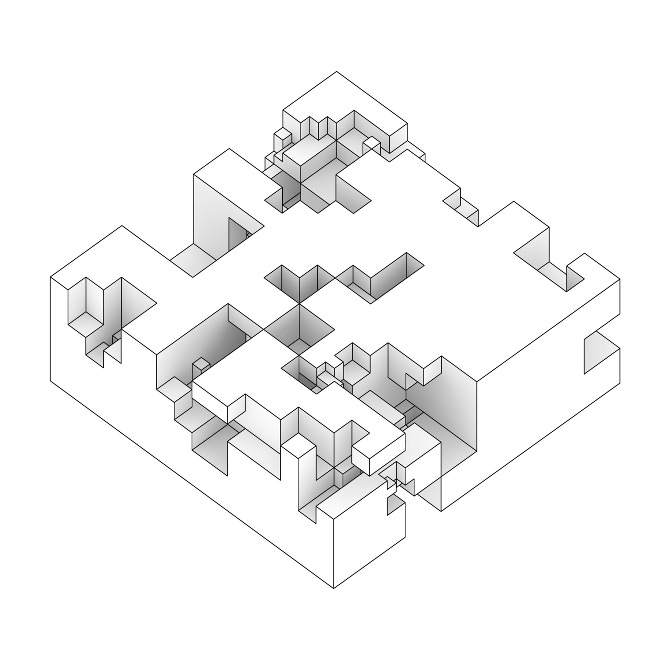 Solid void relationship j 39 s studio blog for Solid void theory architecture