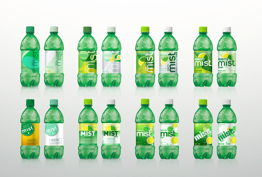 Sierra Mist Packaging Design - MANDI LIN