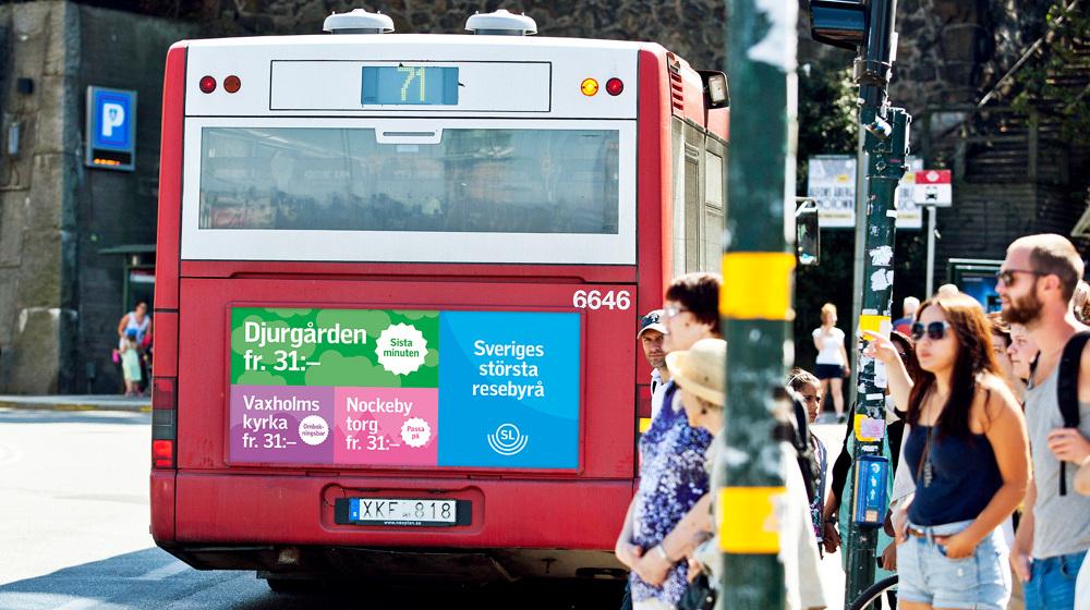 SL – Sweden's largest travel agencyCampaign - jakobelmgren com