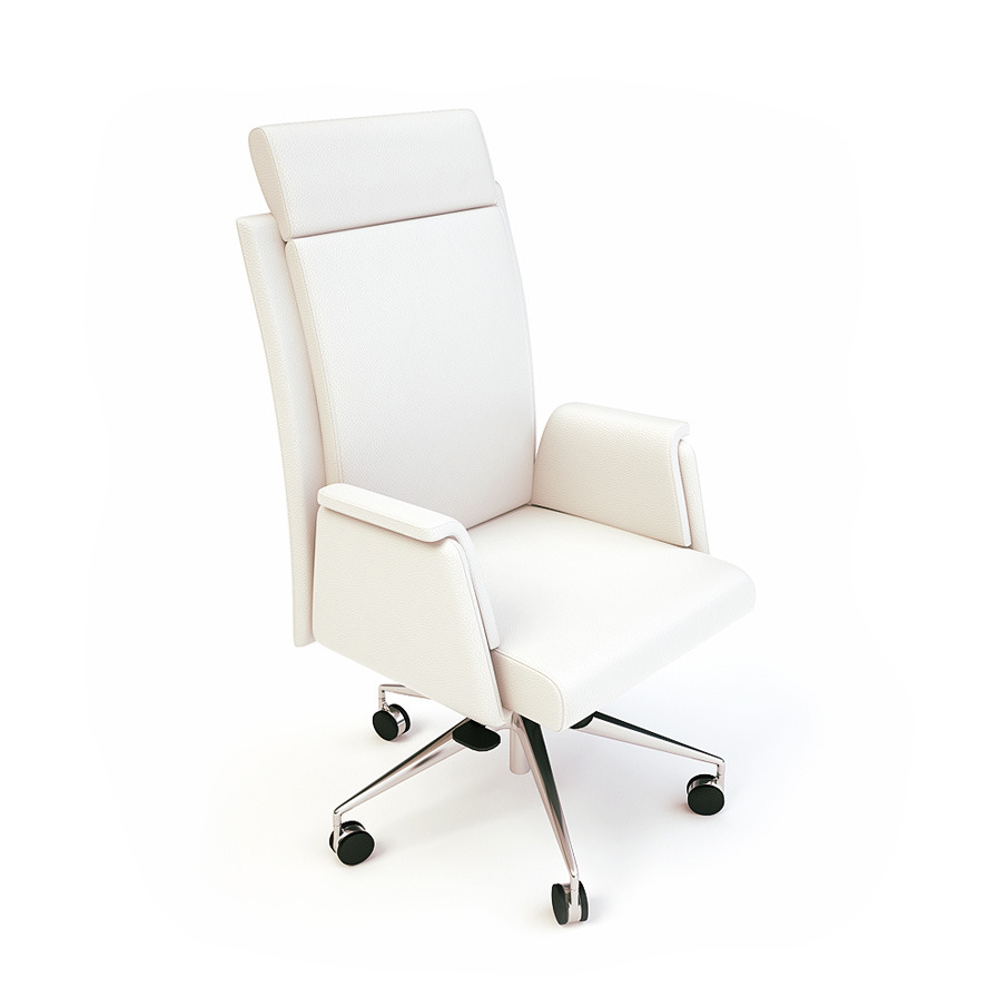 Of Office Furniture Ordered Visualisation A Number Items For Printed And Online Catalogues So The Were Isolated On White Background