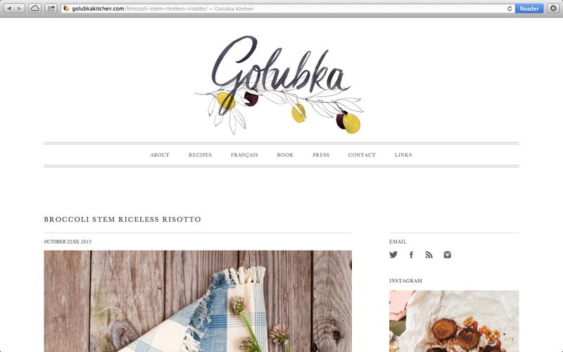 Golubka Kitchen Erinellis Personal Network