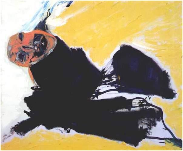 Kitchen art painting - Painting By Don Van Vliet Captain Beefheart
