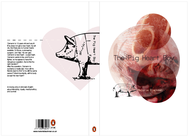 """essay on pig heart boy Shyam selvadurai's pigs can't fly is the story of a young boy who is torn by reality and his family's efforts to suppress his true sexuality lord of the flies essay """" ralph wept for the end of innocence, the darkness of mans heart and the fall through the air of the true, wise friend piggy'(golding 202."""