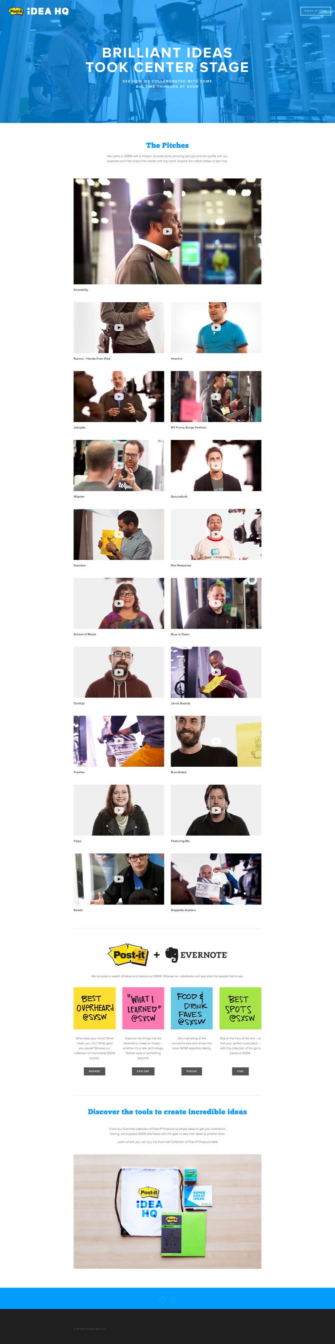 Post-it Idea HQ - Mike Rook