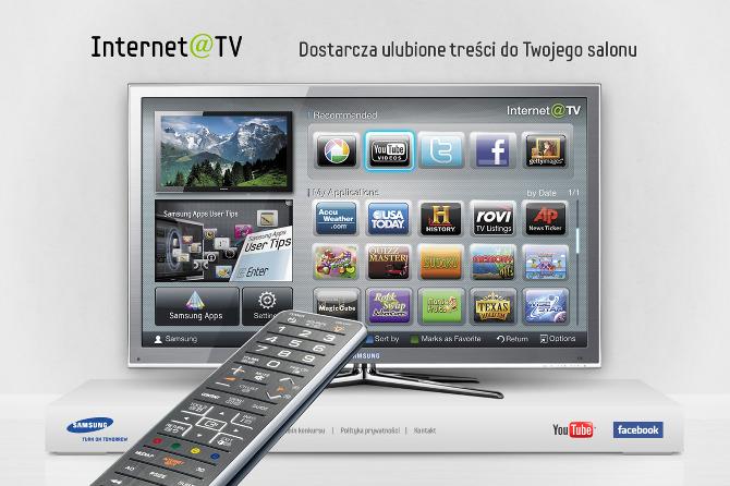 Samsung tv internett