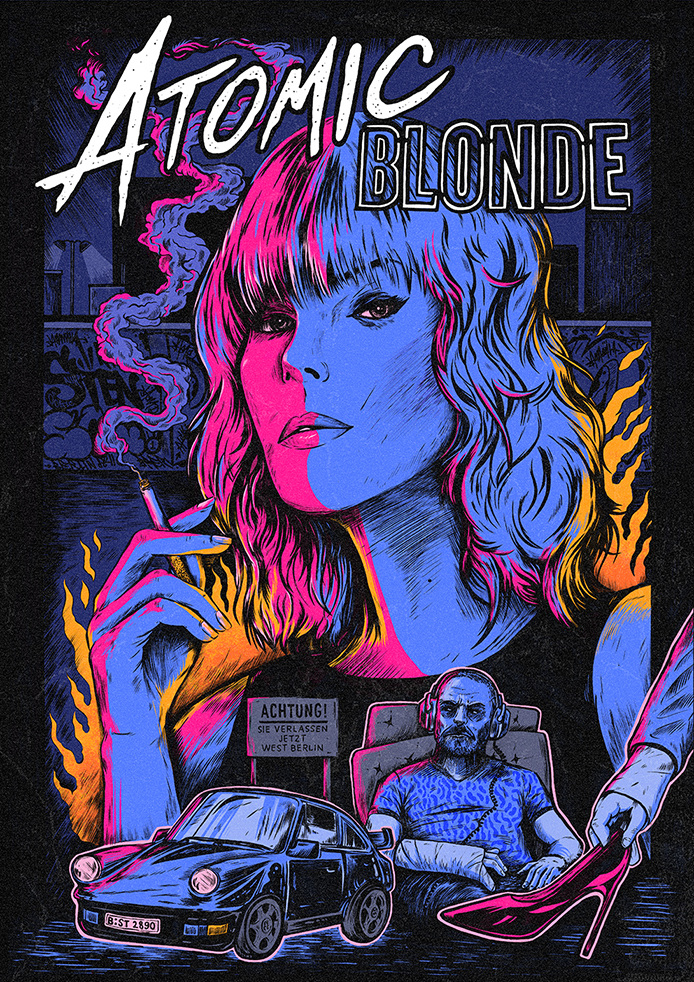 ATOMIC BLONDE - Sam Dunn