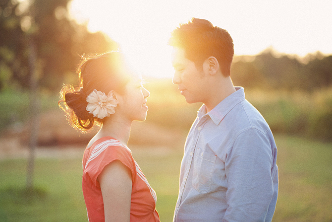 新加坡 婚紗攝影 Sengkang riverside park pre wedding