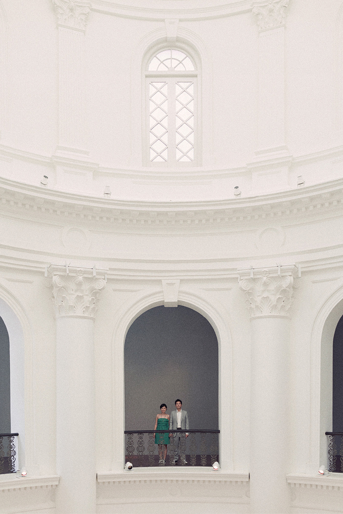 Singapore National Museum pre-wedding photo