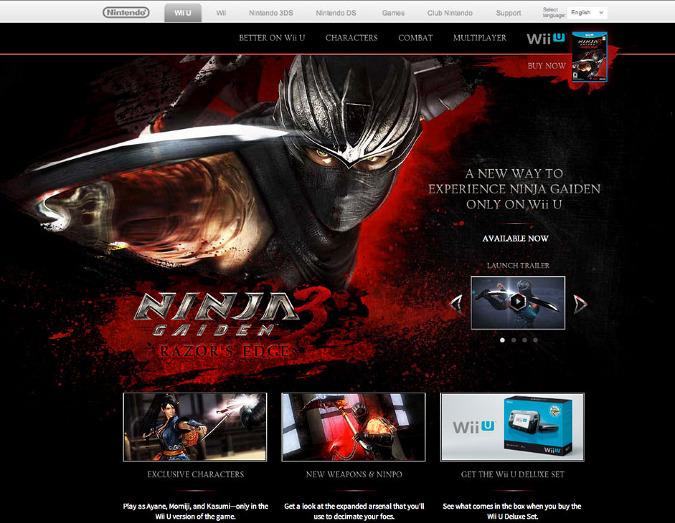 Ninja Gaiden 3 Razor S Edge Jessemann Personal Network