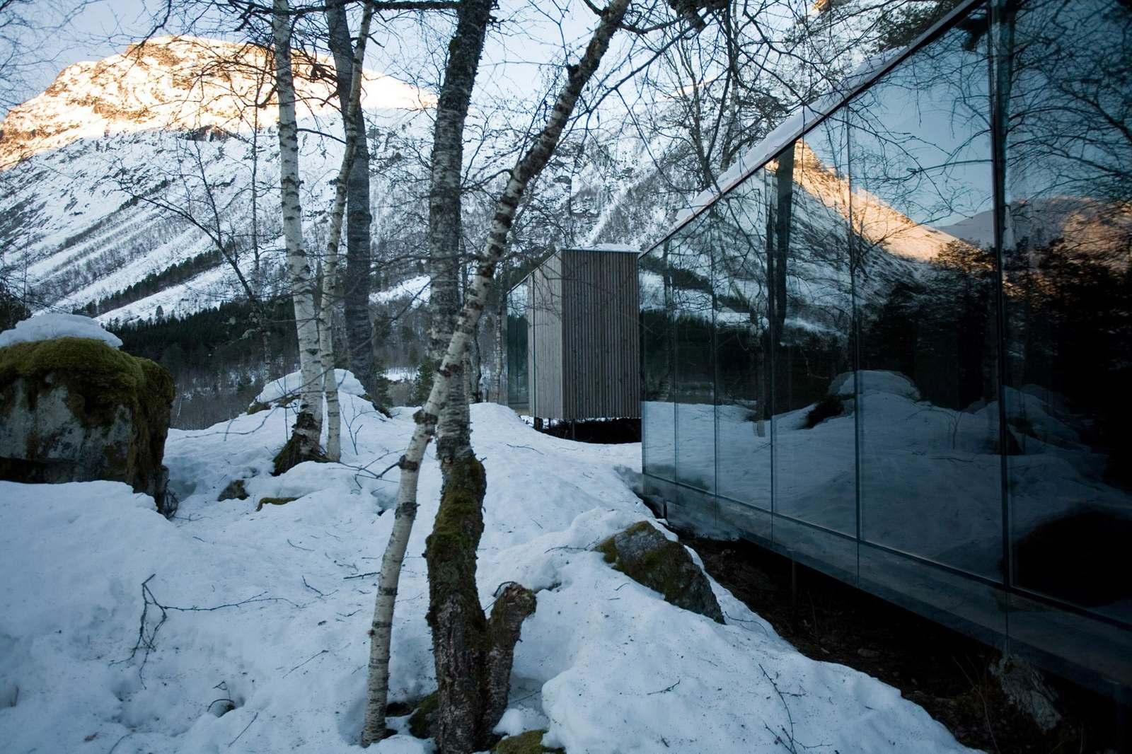 Juvet Landscape Hotel First Phase Jensen Skodvin