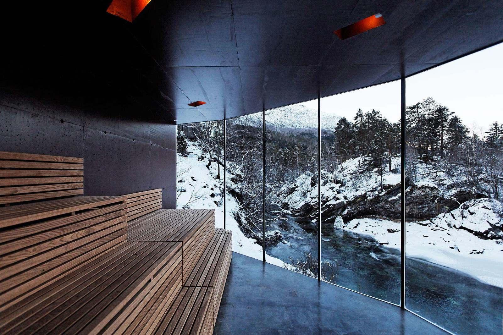 Juvet Landscape Hotel River Sauna Jensen Skodvin