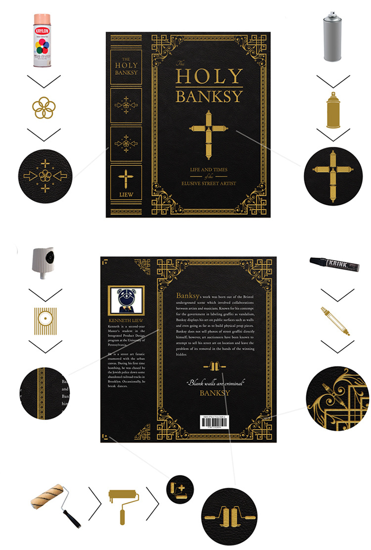 The Holy Banksy - Kenneth Liew // Design | Art Direction