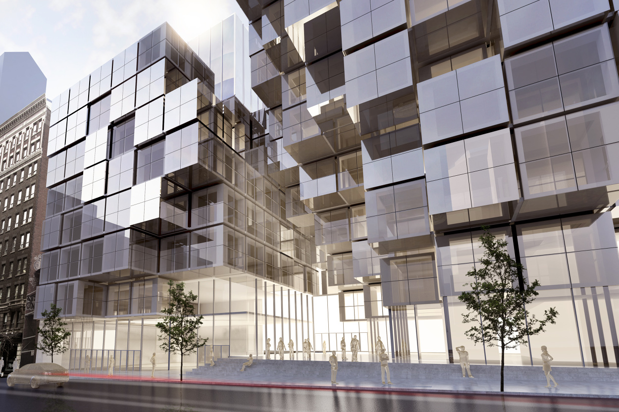 Commercial tower (Montreal, Qc) - lapierre - Personal network