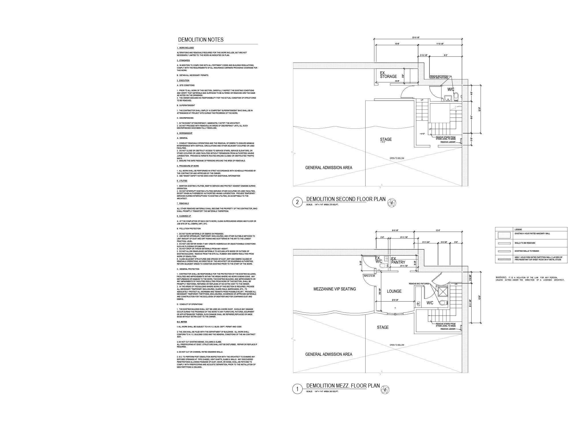 Webster Hall Recording Studio - Nubia Lluvicela Architecture + Design