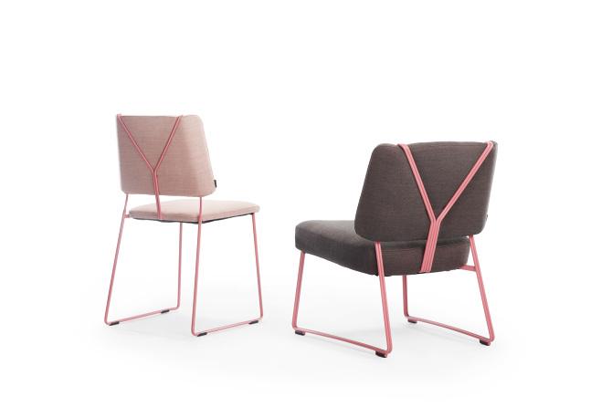 johanson design FRANKIE lounge / JOHANSON DESIGN   FÄRG BLANCHE johanson design