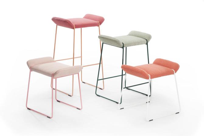 johanson design FRANKIE stool / JOHANSON DESIGN   FÄRG BLANCHE johanson design