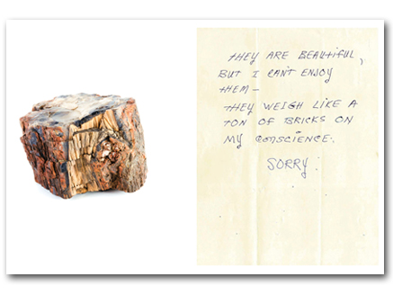 Bad Luck, Hot Rocks: Conscience Letters and Photographs from
