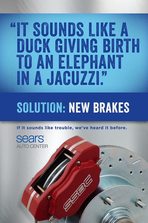 Sears Auto Center - Jackson Moore - Copywriter