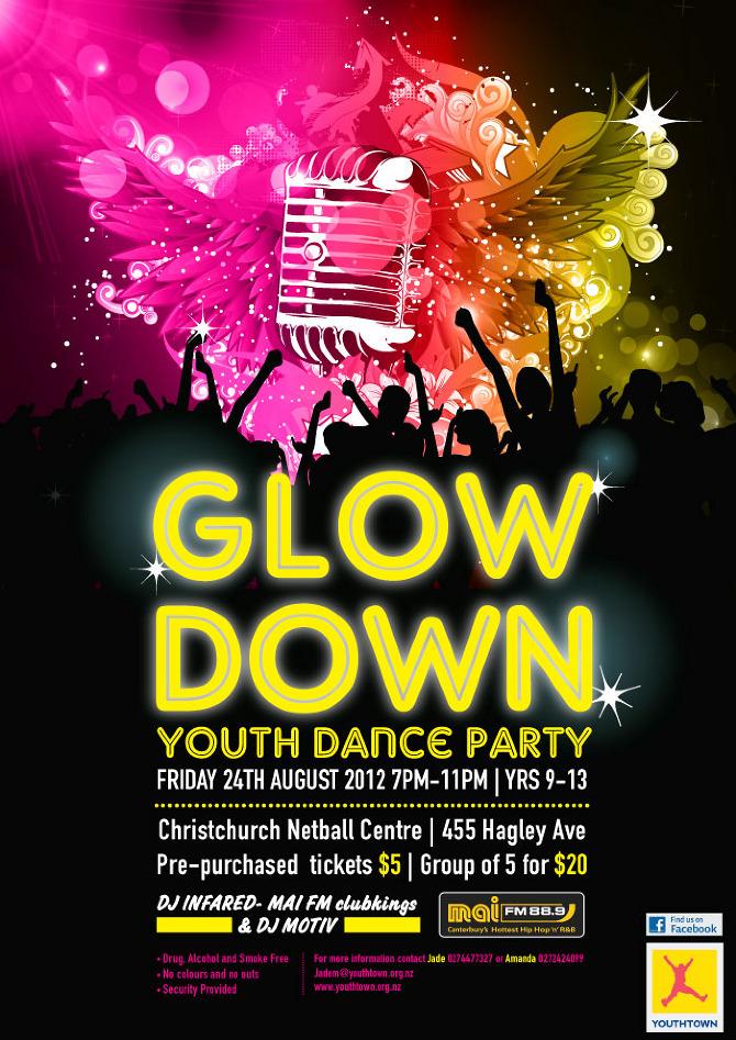 Youthtown posters - jaimeelowe