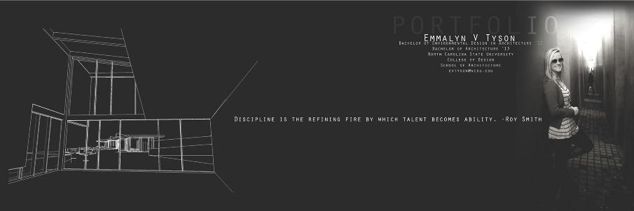 Designer Profile Emmalyn V Tyson Architecture Portfolio