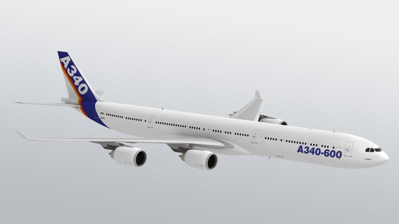 Airbus A340-600 - Aakash's Portfolio