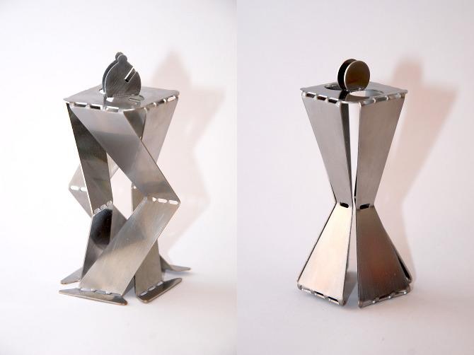 Sheet Metal Chess David Pinto Design Craft
