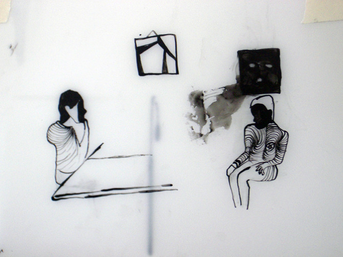 Drawing I The Blind Scenario - ofricnaani