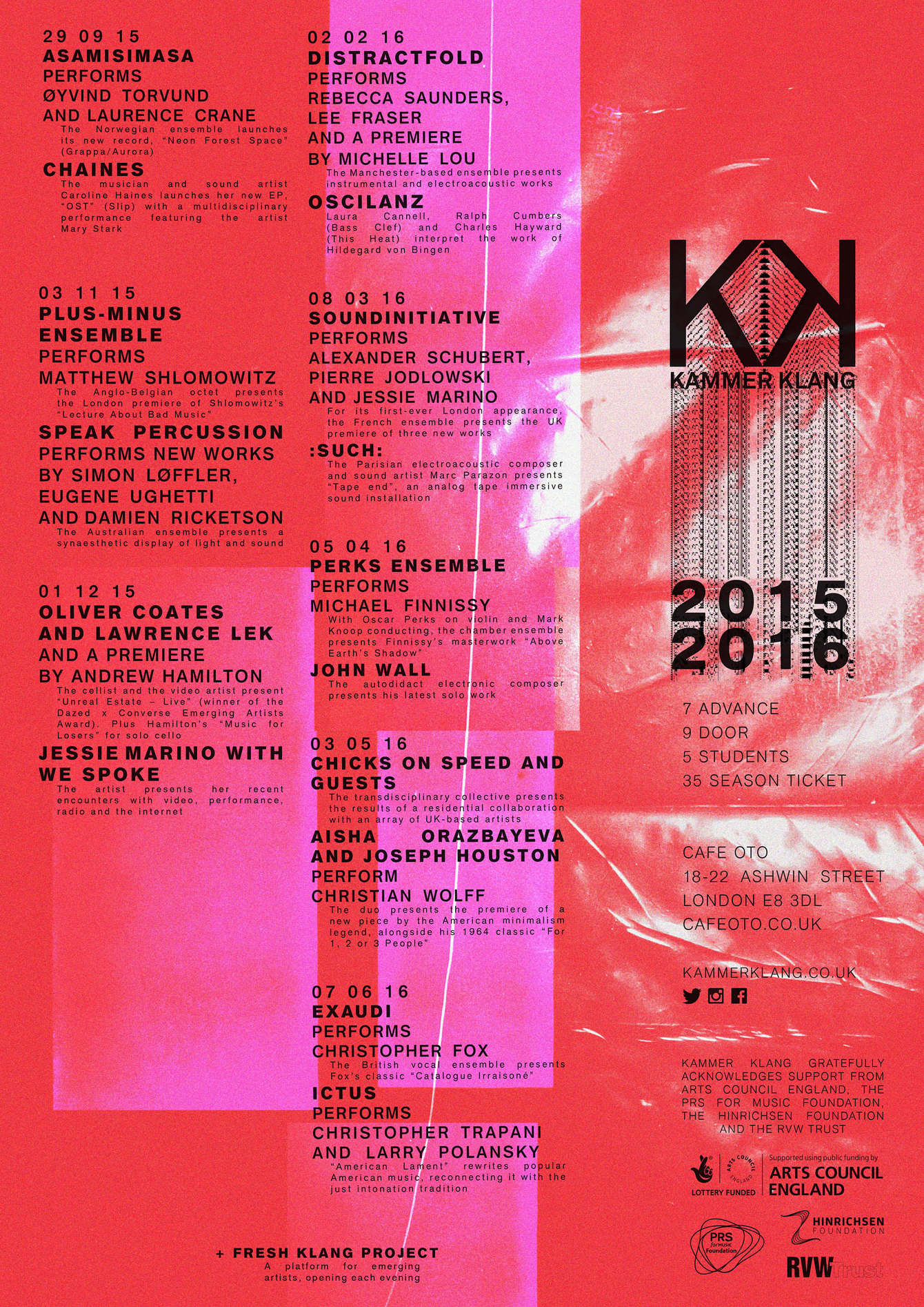 SEASON 6 2015-2016 - Kammer Klang