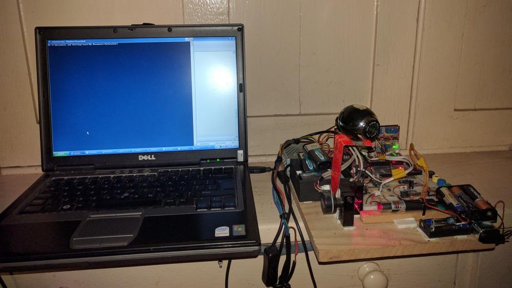 OpenCV Cat-Dodging Laser - TCR Tech Portfolio