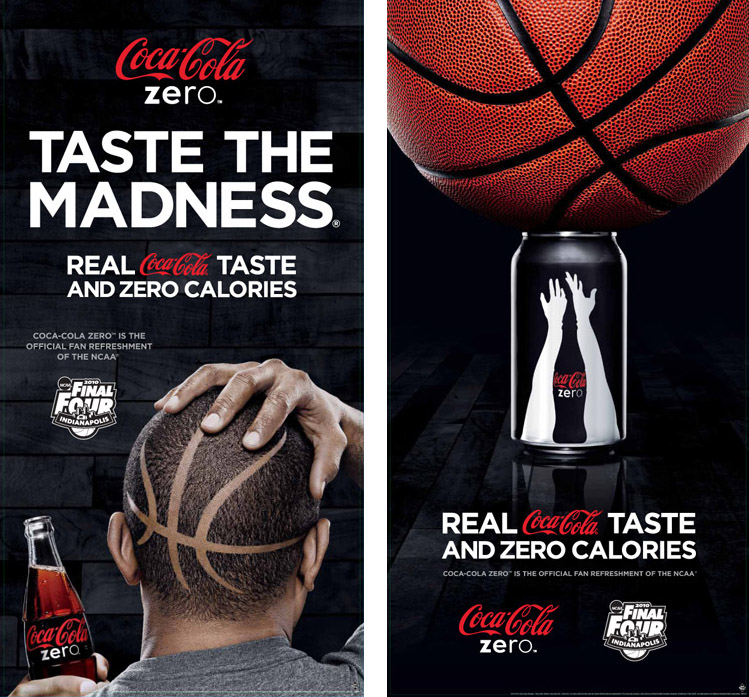 Coke Zero March Madness - keg portfolio