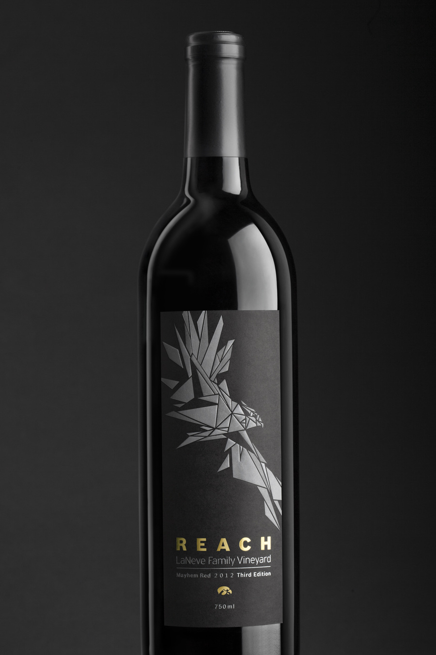 Laneve Wine Bottle Label Design Nicholas Blanzy Portfolio