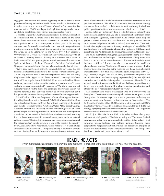 Fields of Gold: The Evolution of the Festival - Noelle Faulkner