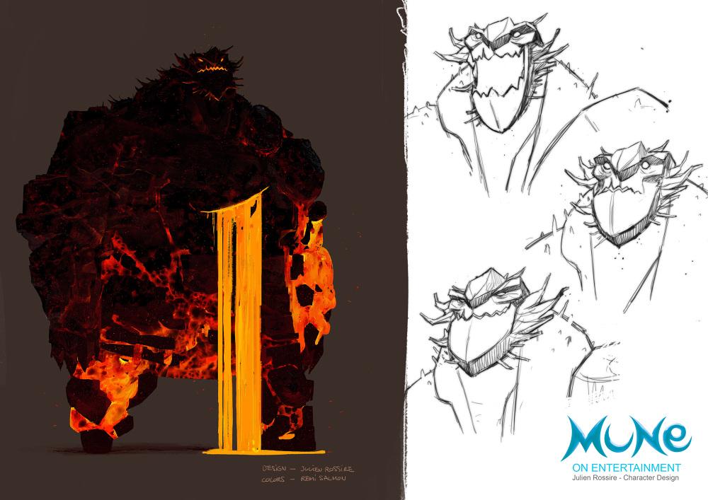 MUNE - Character Designer - julienrossire