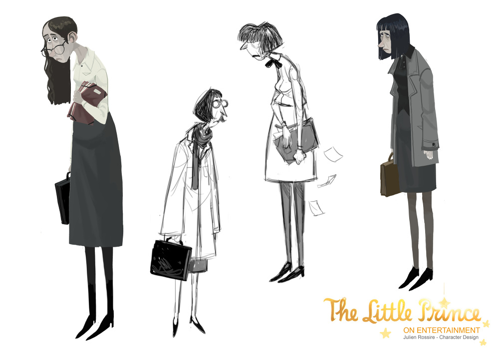The Little Prince - Character Designer - julienrossire