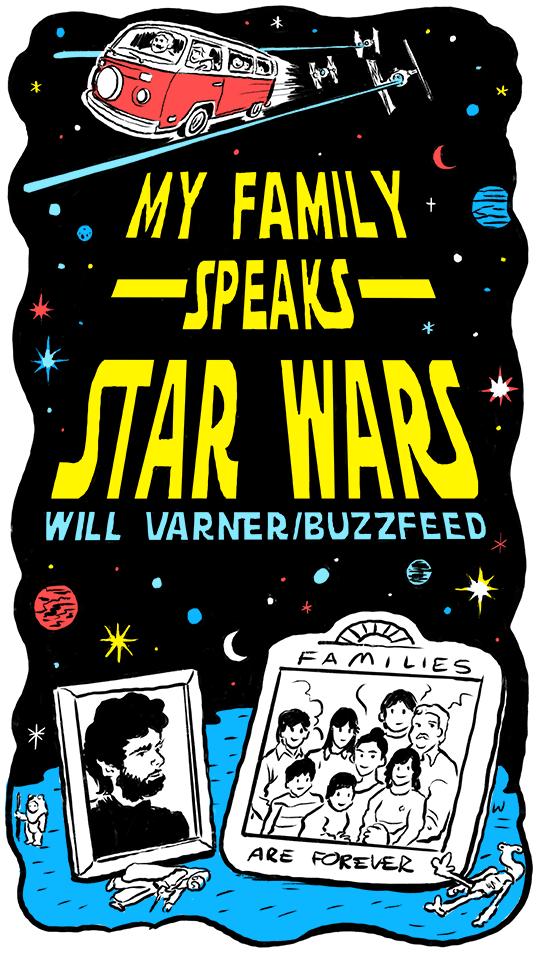 My Family Speaks Star Wars - willvarnerart com