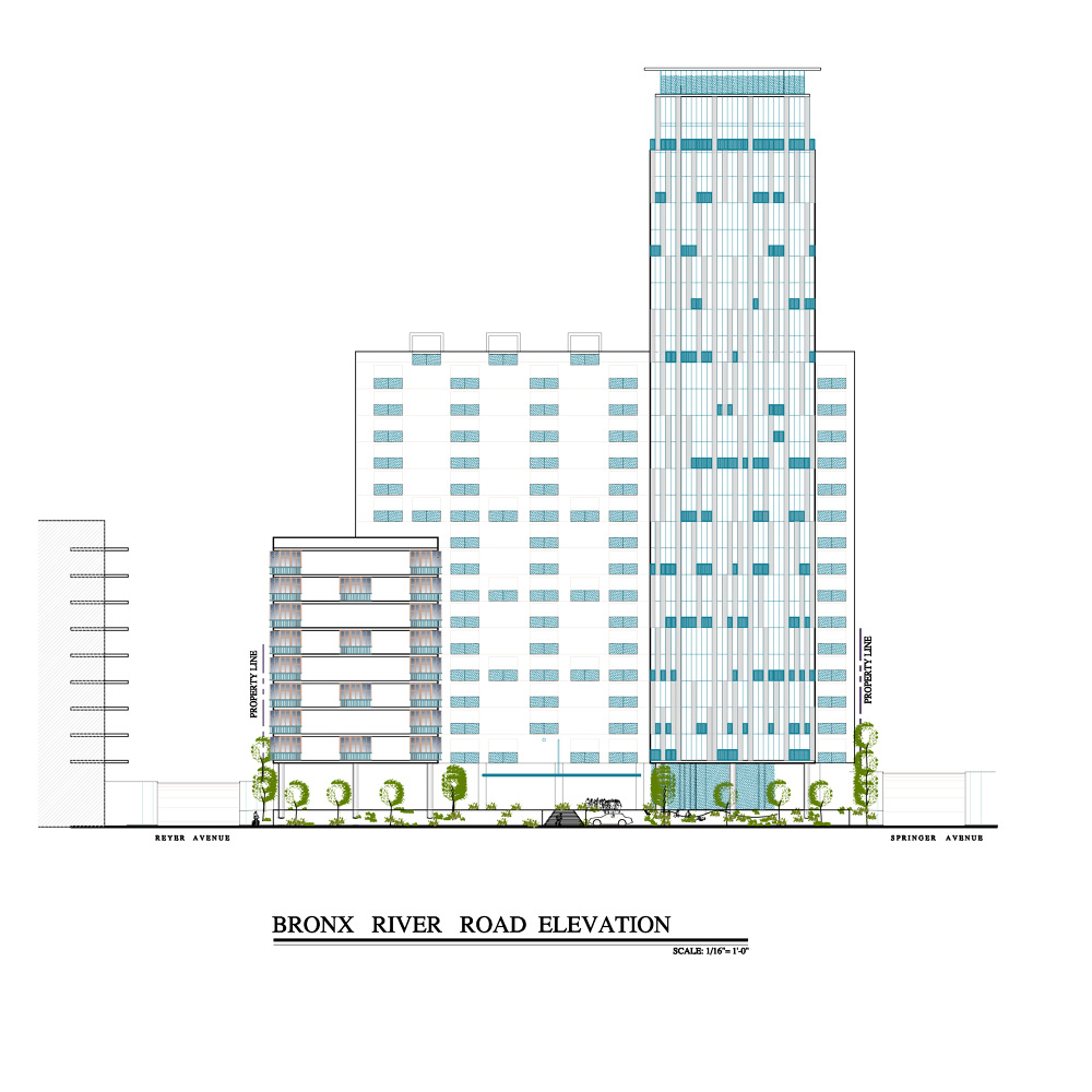 River Park Apartments Bronx: 705 Bronx River Road Yonkers, NY Proposed 374 Unit