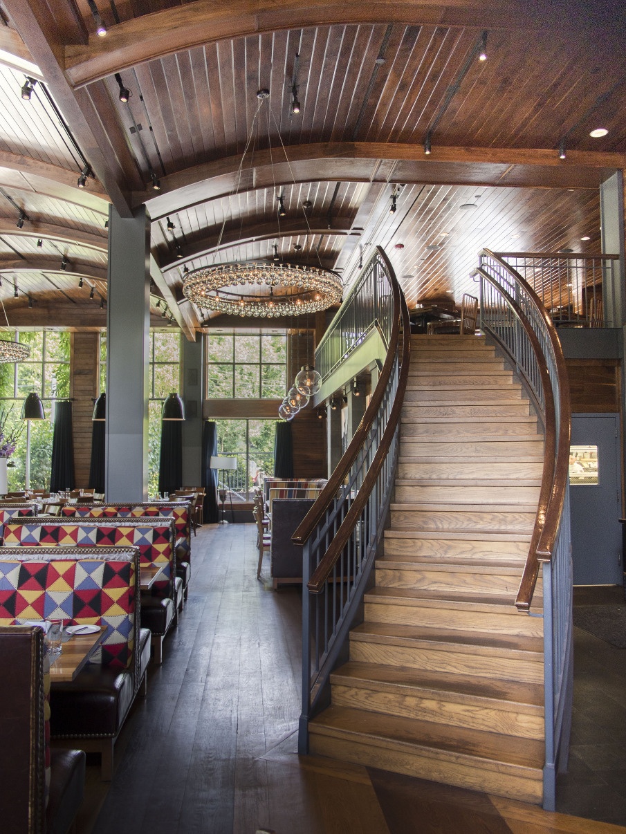 Moderne Barn Restaurant Armonk New York Studio Rai