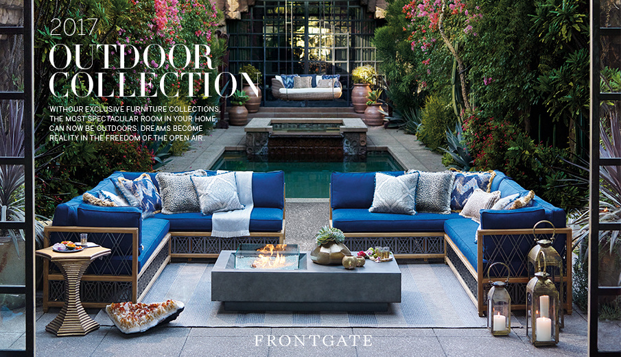 Frontgate Outdoor Look Book Adam Hayes Lewis Creative Direction Design