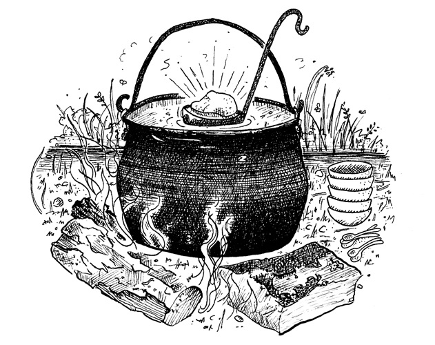 Stone Soup Emily Chappell Illustration