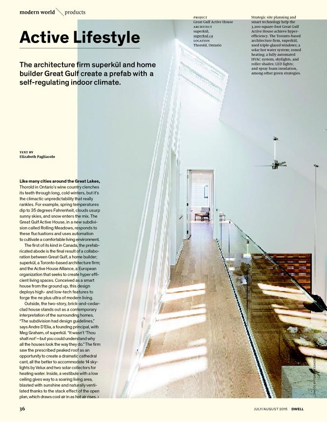 The Smart Home - Diana Budds | Writer + Editor