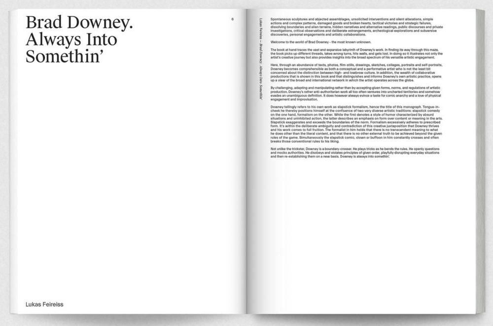 Brad Downey  Slapstick Formalism - Studio Lukas Feireiss
