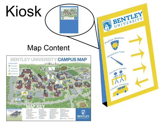 Design Bentley University Kiosk Marina Mirabal S Portfolio