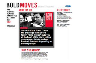 Ford Bold Moves - Graham Wood Work