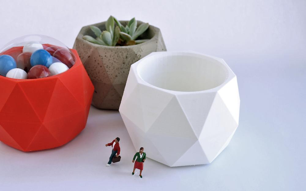 3D Origami Candy Bowl - Tutorial • Art Platter | 625x1000