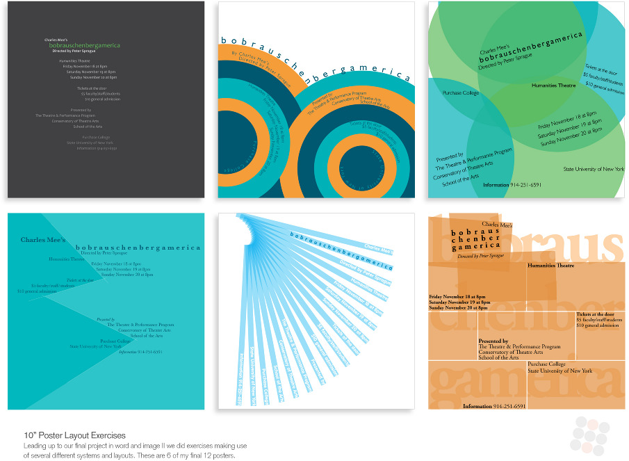 10 poster layouts malcolm webb