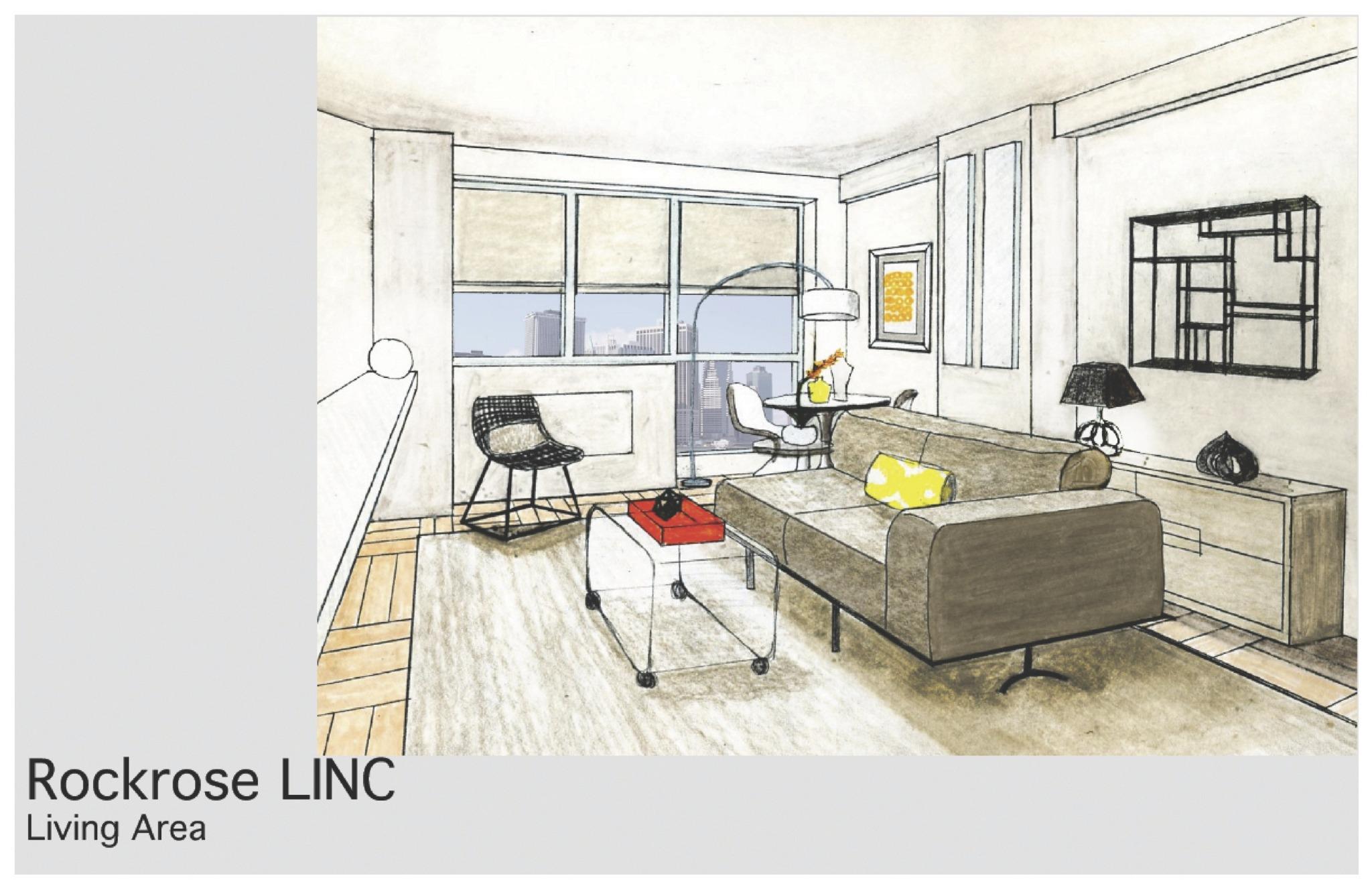 LIC Linc Rockrose Apartment - Amanda Rae Interiors