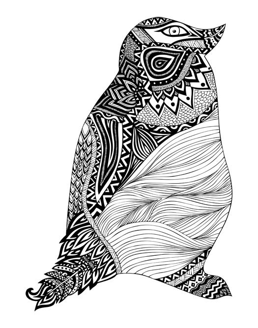 Black White Illustrations Pom Graphic Design
