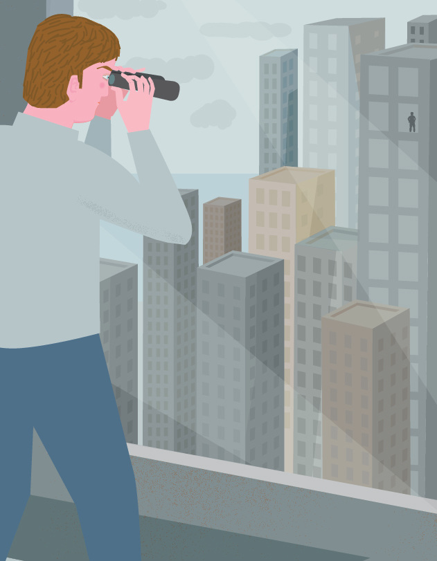 High rise voyeurism
