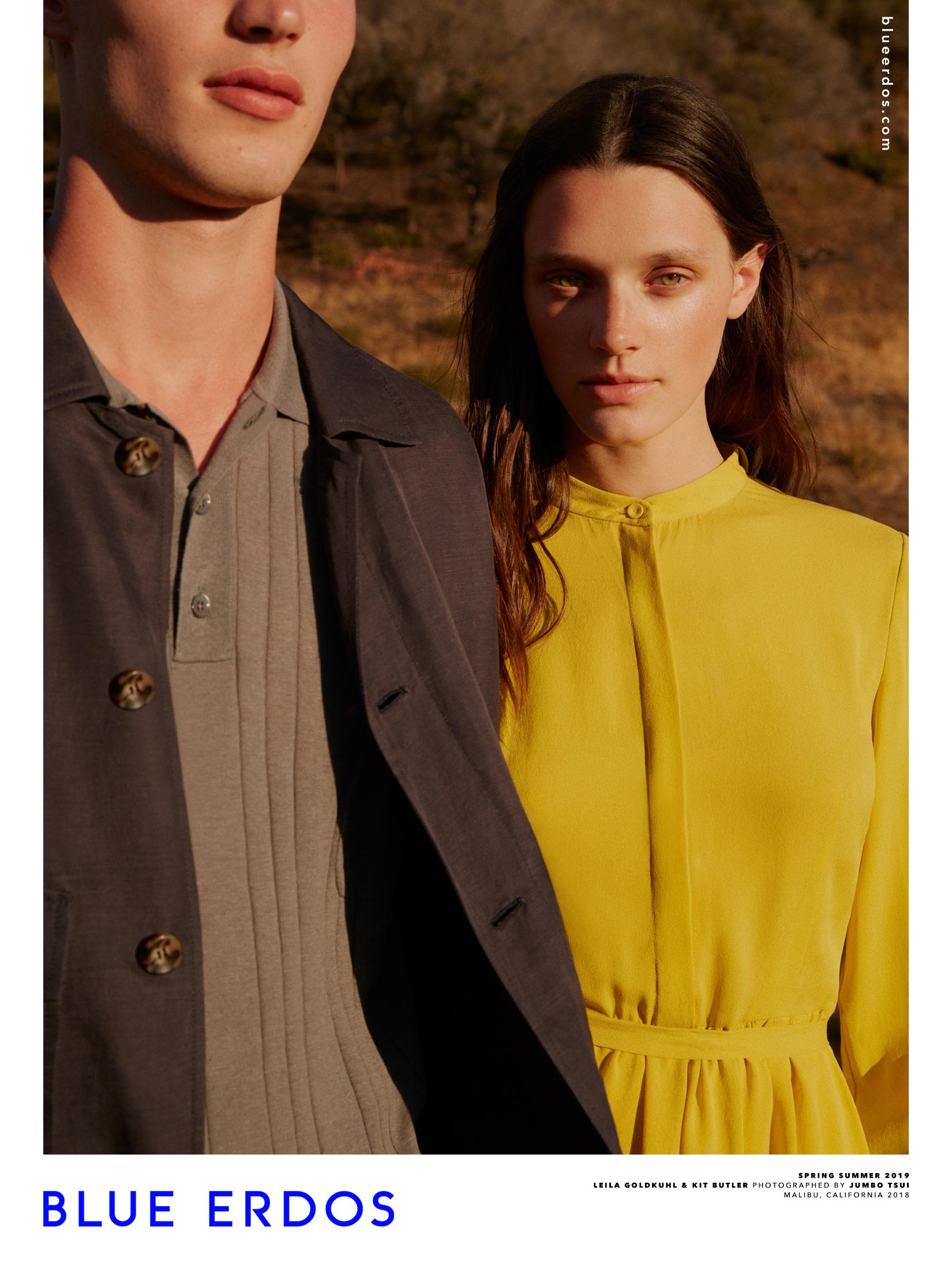 BLUE ERDOS S/S 2019 Campaign - Jumbo Photographe | Fashion Photography