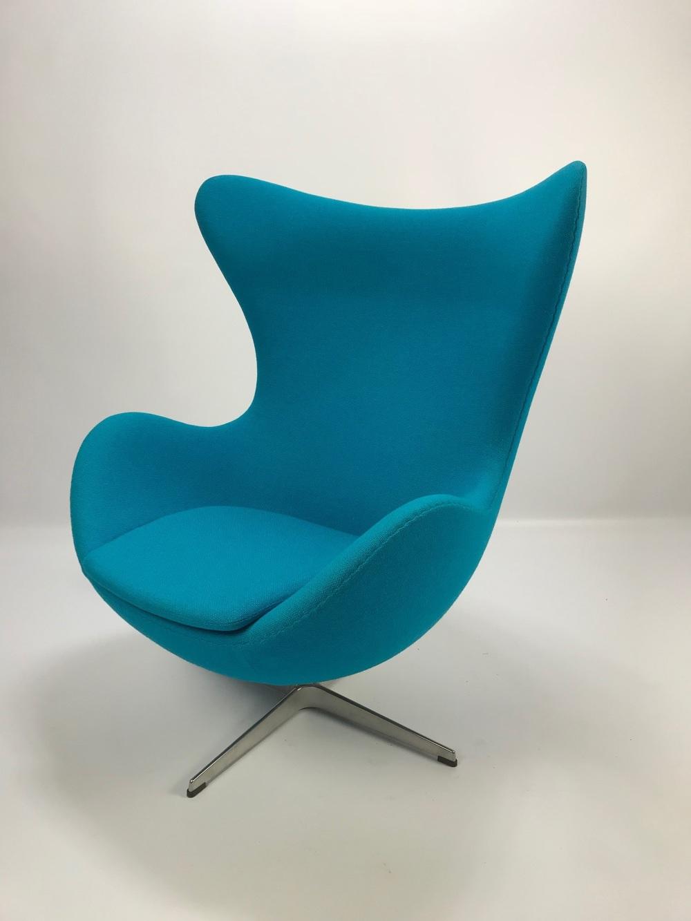 Egg Chair Stof.Lounge Chair Egg Design Arne Jacobsen 1902 1971 Www Wow